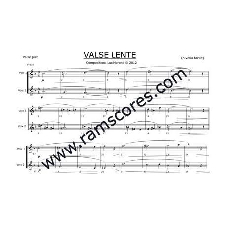 VALSE LENTE (easy)