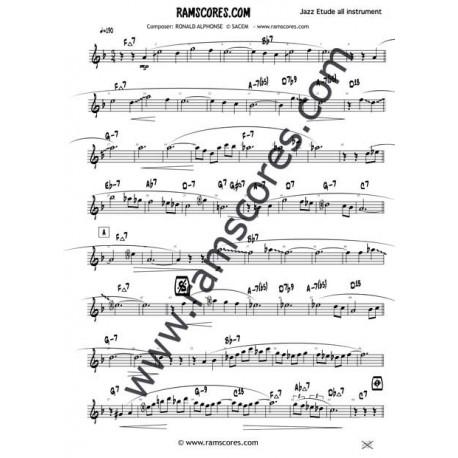Eb JAZZ SOLOS 1 (sheets music)