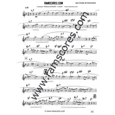 TRANE SLO BLUES (Bb) - www ramscores com