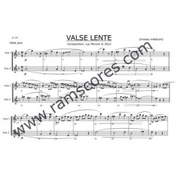 VALSE LENTE (medium)