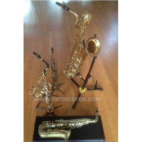 MEDLEY DE TROIS MUSIQUES DE FILMS FRANCAIS CELEBRES (quintet de saxophones)