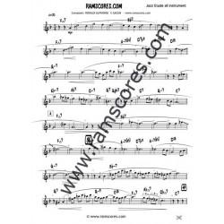 SONGE D'AUTOMNE (Bb bajo registro)