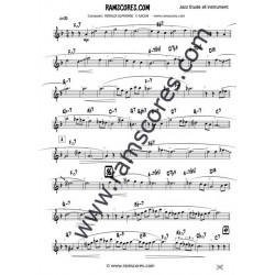 BLUE BLUES Solo (clarinet bajo)