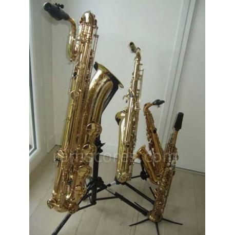 EN LAS CALLES DE ANTIBES (cuarteto de saxofones )
