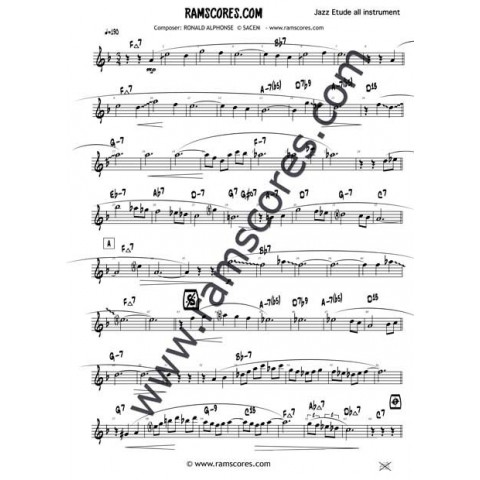 Music pdf sheet jazz