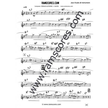 SPRING TIME Solo (Eb) - summertime partition saxophone alto